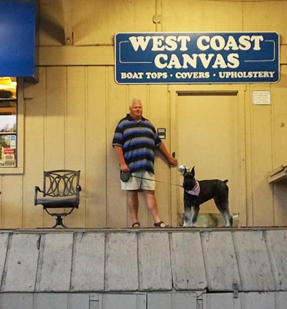 West Coast Canvas Location