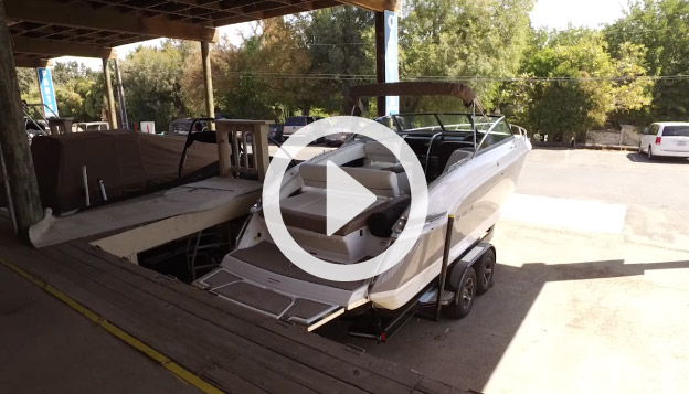 Covered Bays for Trailer Boats